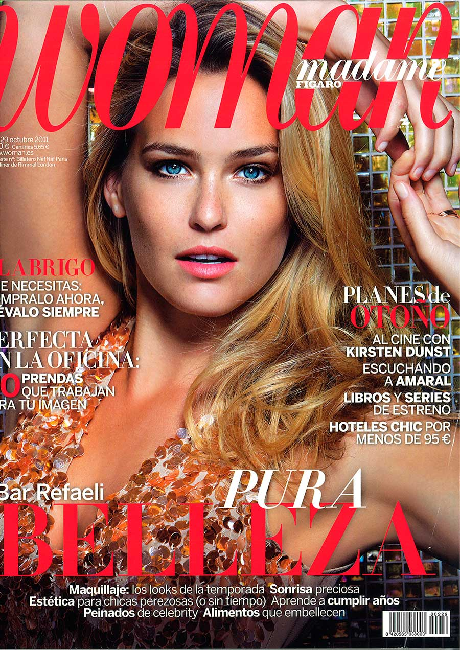 Bar Refaeli-Woman Madame Figaro