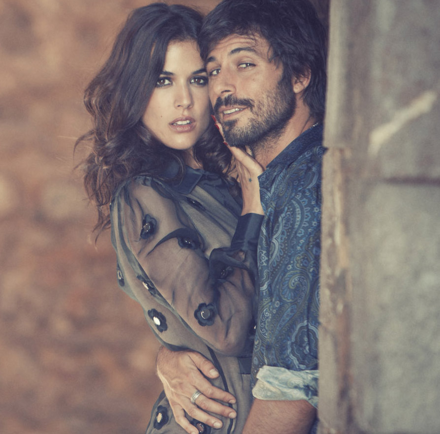 Adriana Ugarte y Hugo Silva para Woman Madame Figaro